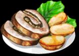 Dish-Turkey Roll