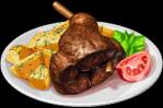 Dish-Slow-Cooked Lamb