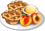 Dish-Mini Peach Pie
