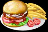 Dish-Hamburger