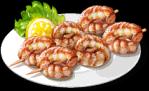 Dish-Shrimp Skewers