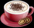 Dish-Cappuccino