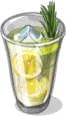 Dish-Vanilla-Rosemary Lemonade