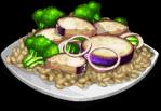 Dish-Eggplant Stir-Fry