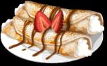 Dish-Creamy Crepes