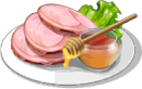 Dish-Honey Glazed Ham
