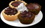 Dish-Chocolate Tartlets