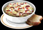 Dish-Corn Chowder