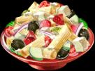 Dish-Greek Salad$2