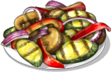 Dish-Grilled Vegetables