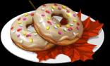 Dish-Maple Glazed Donuts