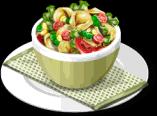 Dish-Cheese Tortellini Salad