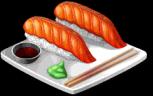 Dish-Salmon Nigiri