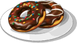 Dish-Chocolate Glazed Donut