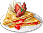 Dish-Strawberry Crepes