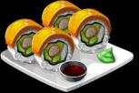 Dish-Mango Roll