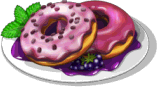 Dish-Blackberry Donuts