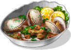 Dish-Grill Braised Clams