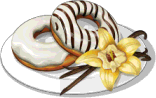 Dish-Vanilla Glazed Donuts