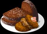 Dish-Gingerbread