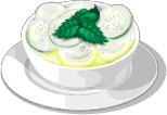 Dish-Cucumber Yogurt Salad
