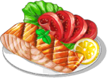 Dish-Grilled Salmon