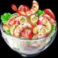 Dish-Cold Salad
