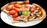 Dish-Quatro Stagioni Pizza