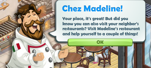 Pay a Culinary Visit!-Chat Bubble