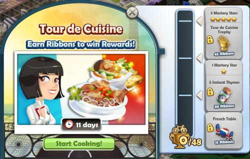 Tour de Cuisine