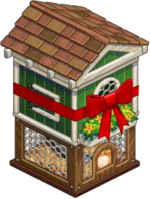 Harvestable-Chicken Coop wrapped