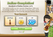 Italian Completion!