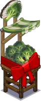 Harvestable-Broccoli Stall wrapped