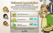 Universal Appreciation