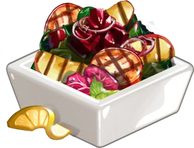 Recipe-Grilled Fruit and Veggie Salad