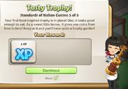 Tasty Trophy!