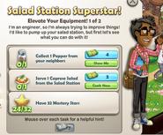Salad Station Superstar!