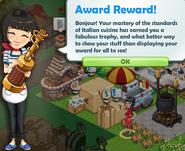 Award Reward!