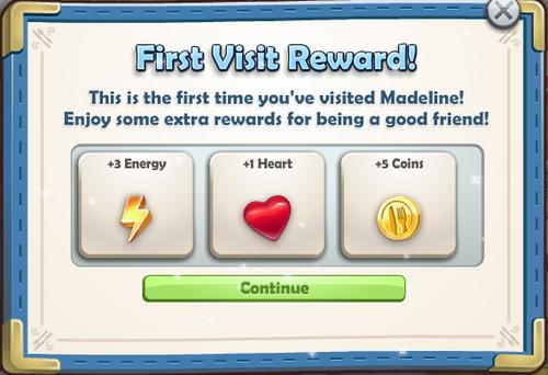 First Visit Reward