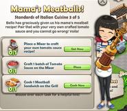 Mama's Meatballs!