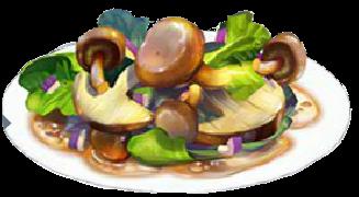 Recipe-Wild Mushroom Salad