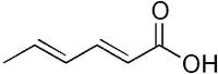 Sorbic acid skeletal
