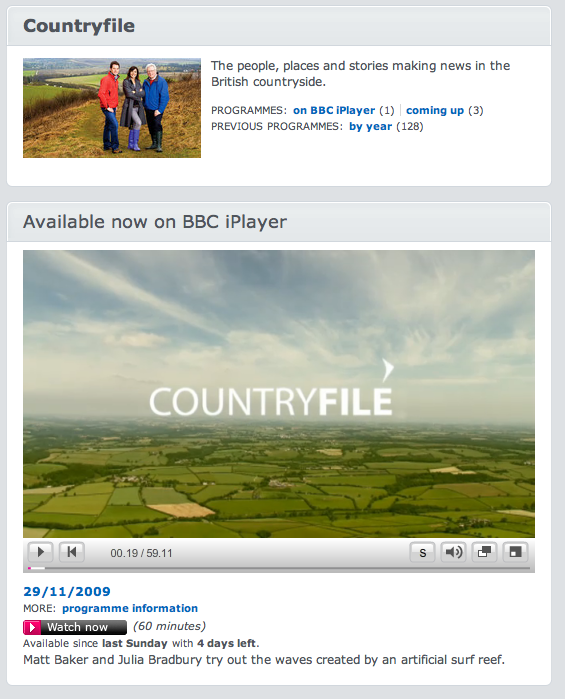 Bbc-country-file-chemtrails