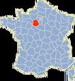 Eure-et-Loir-Position