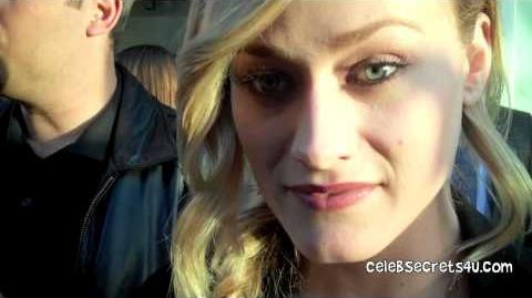 Olivia Taylor Dudley Interview Chernobyl Diaries LA Premiere