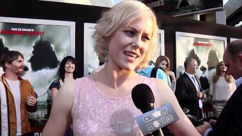 Ingrid Bolsø Berdal Talks 'Chernobyl Diaries' At Film's Movie Premiere