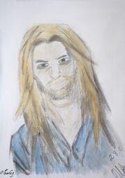Dave le blond aux yeux verts par Olka1919