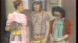 Chaves - VHS - 1979 - Um banho para o Chaves