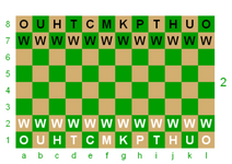 Dragonchess init config, middle board