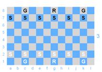 Dragonchess init config, upper board